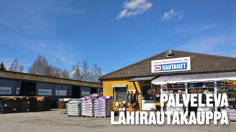 Palveleva lähirautakauppa - Timon Rautakauppa Oy